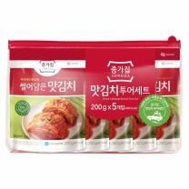 종가집 맛김치세트(200G*5입)