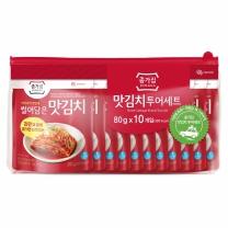 종가집 맛김치세트(80G*10)