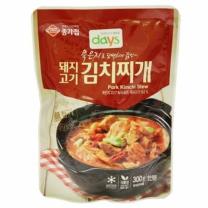 종가집 묵은지돼지김치찌개(300G)