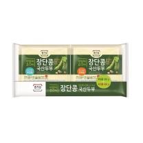 종가집 장단콩 두부 (부침+찌개)(300G*2입)