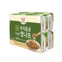 종가집 국산콩 생나또(96G*4)
