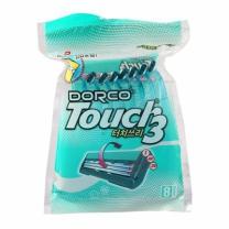 도루코 TOUCH3 휴대용 면도기(8입)