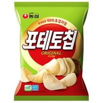 농심 포테토칩 오리지날(125G)