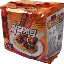 농심 사천요리짜파게티(5개)