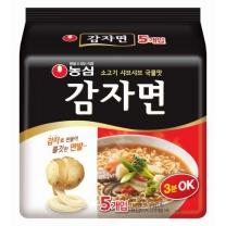 농심 감자면(5개)