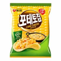 농심 포테토칩 콘치즈맛(125G)