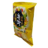 농심 조청유과 유자맛(80G)
