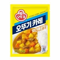 오뚜기 카레분말 약간매운맛(100G)