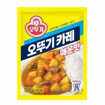 ♣ 오뚜기 카레분말 매운맛(100G)