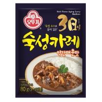 오뚜기 3일 숙성카레 (약간매운맛)(80G)