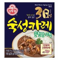 오뚜기 3일 숙성카레 (순한맛,고형)(100G)