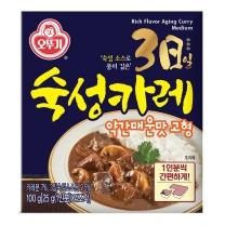 오뚜기 3일 숙성카레 (약간매운맛,고형)(100G)