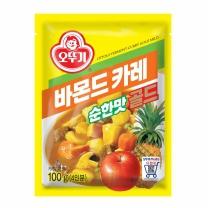 오뚜기 바몬드카레골드 순한맛(100G)
