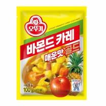 ♣ 오뚜기 바몬드카레골드 매운맛(100G)