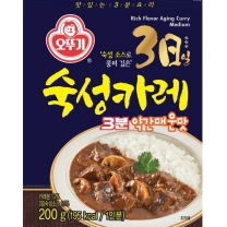 오뚜기 3일 숙성카레 (약간매운맛)(200G)