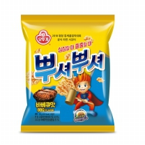 오뚜기 뿌셔뿌셔 바베큐맛(90G)