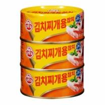 오뚜기 김치찌개참치(150G*3입)