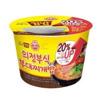 오뚜기 컵밥 부대찌개밥(183G)