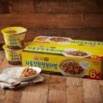 오뚜기 컵밥 차돌강된장 보리밥(280G*6입)