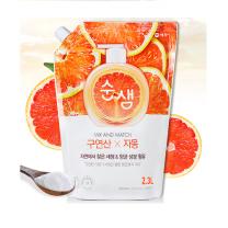순샘 주방세제 리필 (자몽)(2.3L)