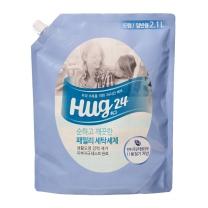 ㉭ HUG24 세탁세제 (리필)(2.1L)