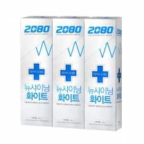 2080 샤이닝 화이트 치약(100G*3입)
