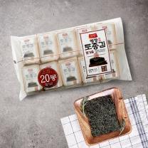 양반 토종 들기름김(10장*20봉)