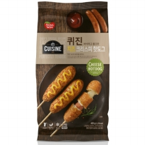 동원 퀴진 치즈크리스피 핫도그(400G)