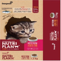 뉴트리플랜 고양이사료(키튼)(1.5KG)