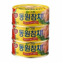 동원 그린 살코기 참치(150G*3입)