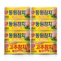 동원 살코기 고추참치 기획(100G*6입+100G*2입)
