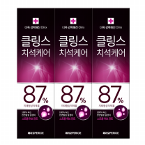 클링스 치약 (스트롱민트)(100G*3입)