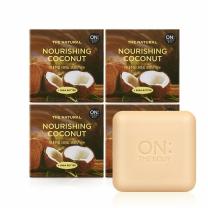 온더바디 더내추럴 비누 (코코넛)(90G*4입)