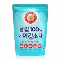 ㉫ 한입 100% 베이킹소다 (리필)(4KG)