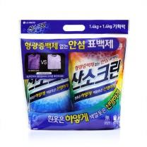 테크 산소크린 표백제(1.4KG*2입)