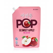 자연퐁 POP 주방세제 (애플)(1,300ML)