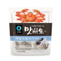 청정원 맛선생 해물국물 티백(72G)