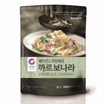 ㉩ 청정원 까르보나라 소스(250G)