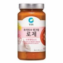 ㉩ 청정원 스파게티소스(로제)(600G)