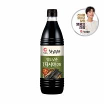 청정원 염도낮춘 발효다시마 간장(840ML)