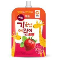 청정원 어린이 홍초 (딸기)(100ML)
