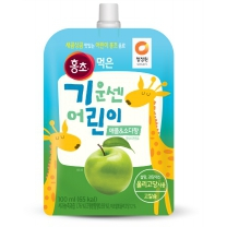 청정원 어린이 홍초 (애플소다)(100ML)