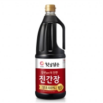 청정원 양조진간장 (진한맛플러스)(1,700ML)