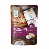 청정원 까르보나라 소스 (1인분)(150G)