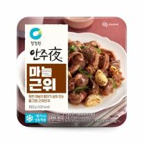 청정원 안주야 마늘근위(160G)