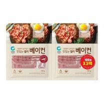청정원 맛있는델리 베이컨(100G*3입)