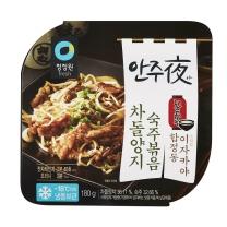 청정원 차돌양지숙주볶음(180G)