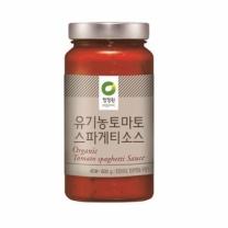 ㉩ 청정원 유기농 스파게티소스(600G)
