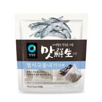 청정원 맛선생 멸치국물 티백(80G)
