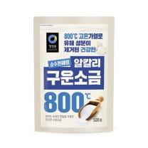 청정원 구운소금(500G)